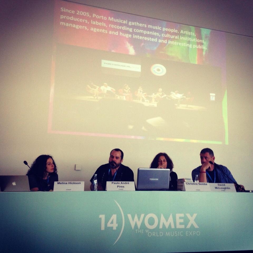 Porto Musical é apresentado em conferência na WOMEX